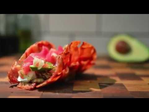 Bacon taco shell!!!