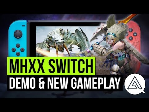 Xxx Mp4 Monster Hunter XX Nintendo Switch EShop Demo Amp New Gameplay 3gp Sex