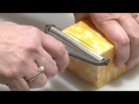 Cooking With Sue - HT Use a Wire Cheese Slicer