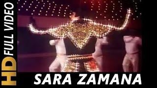Sara Zamana Haseeno Ka Deewana | Kishore Kumar | Yaarana 1981 Songs | Amitabh Bachchan