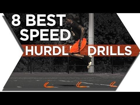 SPEED HURDLE TRAINING - BEST DRILLS FOR MINI HURDLES