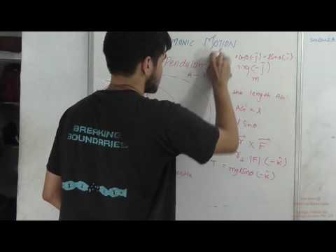 SHM : P6 : Compound Pendulum,Problem Solving