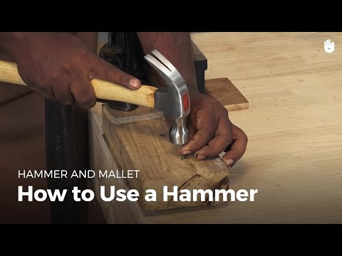 How to Use a Hammer | Woodworking