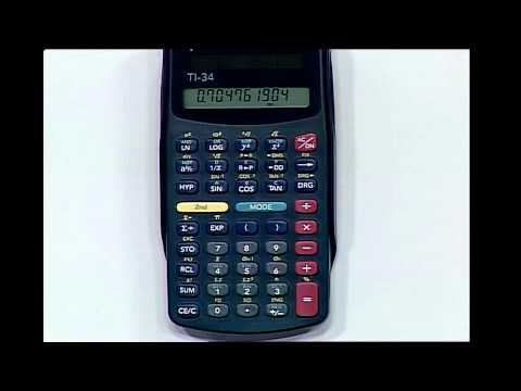 Trigonometry-Using a Calculator to Find Unknown Angles