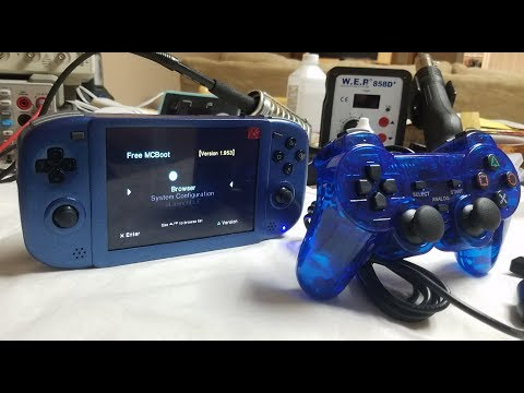 THE FUTURE IS HERE! THE GS2 - NEW PS2 PORTABLE