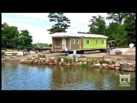 Building on an Island - Luxury Prefab Cottage Builders - Royal Homes