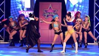 "1st • Mini • Character Choreographed by Rachel Miller Orange County Performing Arts Academy  Dancers: Raven Alanes, Aleena Aoun, Madison Beerer, Michelle Cheng, Ella Cron, Emma Kang, Delanie Munger, Ollivia Nguyen, Jadyn Saigusa  Song: ""Snow White and the 7 Seven Thugs"" by Todrick Hall https://www.youtube.com/watch?v=fVRy7v0Cigo  Instagram --- http://full.sc/V3TskF Twitter --- http://full.sc/VXRYnQ Facebook --- http://goo.gl/Ye6VhT"