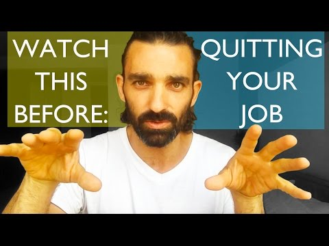 HOW TO QUIT YOUR JOB || My story || My advice