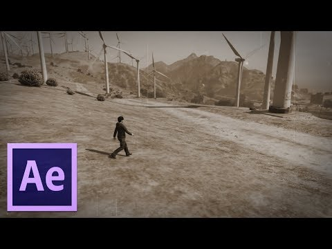 Adobe After Effects Old Film Effect (Preview)