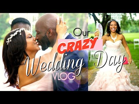 Our Crazy Wedding Day Vlog