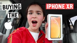 SHOPPING FOR THE NEW IPHONE XR! Vlog + Unboxing