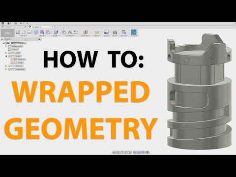 Creating Wrapped 4th Axis Geometry - Fusion 360
