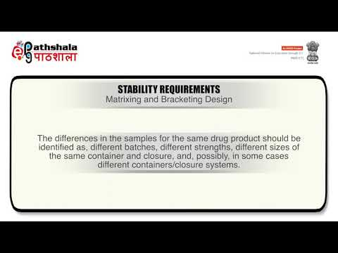 Product Evaluation Part 1: Stability Testing