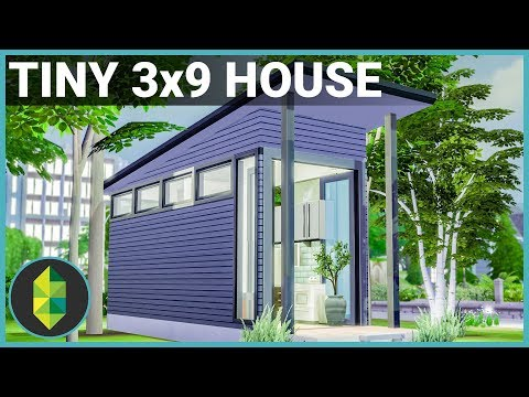 Tiny 3x9 House - The Sims 4 House Build