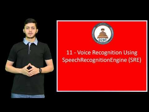 WinForm Tutorial Using C# 11 - Voice Recognition Using SpeechRecognitionEngine
