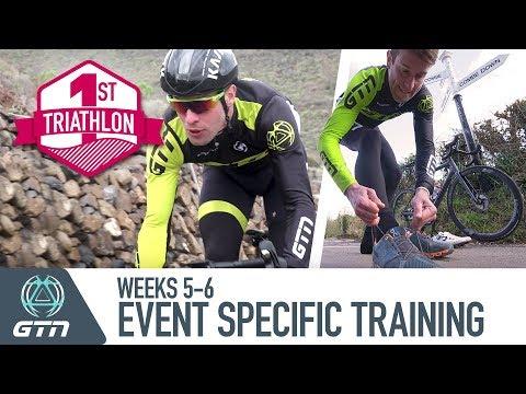 Triathlon Training Plan | Make Your Training Event Specific | Week 5-6