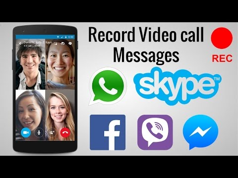 How to Record Video Call on Whatsapp, Facebook, Skype, IMO Video Call With Sound