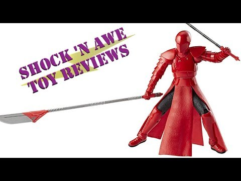 Hasbro Star Wars Black Series Praetorian Guard (Amazon Exclusive) Review - SHOCK 'N AWE TOY REVIEWS
