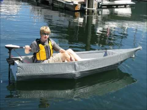 Jack's Duct Tape Boat