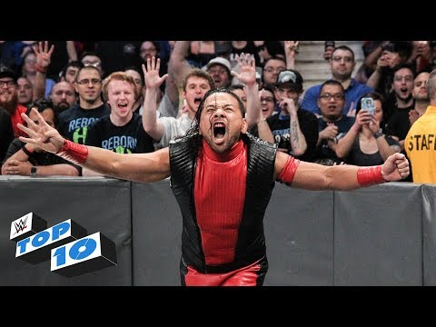 Top 10 SmackDown LIVE moments: WWE Top 10, May 22 2018