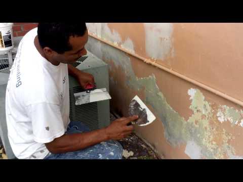 How to Plaster Crack Repair and Repair Peeling Paint