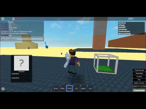 How To Make A Teleporter Work In ROBLOX Sandbox!