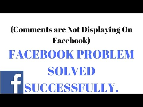 How To Solve/findout a  Commenting/Notification not showing Problems On Facebook App.(Hindi/Urdu)