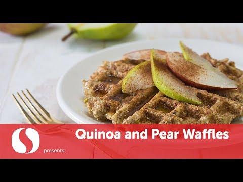 Quinoa & Pear Waffles | New Year Recipes | Safeway