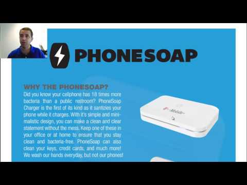 PhoneSoap UV Phone Cleaner Promotional Product