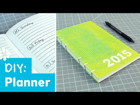 DIY Planner Notebook | Back to Budget Basics Kin Collab | Sea Lemon