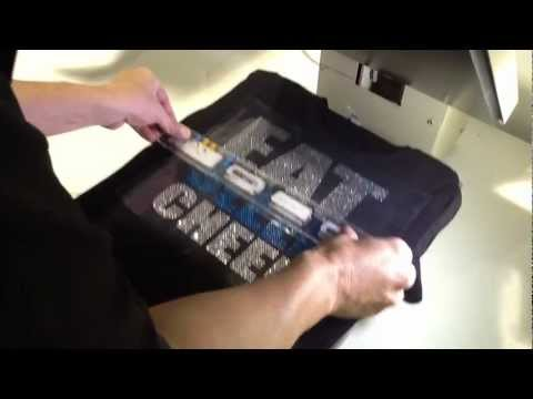 How To Make A Custom Rhinestone Cheer Dance Shirt