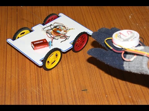 How to Make a Gesture Control Robot Without Microcontroller