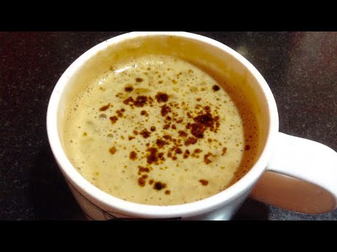 Beaten coffee - how to make thick and creamy beaten coffee at home - in hindi - DOTP - Ep (309)