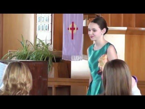 Anna Mercer & Brian Way perform Volksliedchen by Schumann