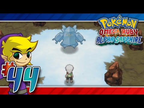 Let's Play Pokemon: Omega Ruby - Part 44 - Regirock, Regice, Registeel!!