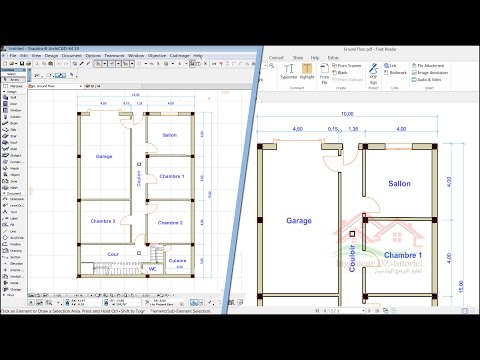 How to convert ArchiCad file (PLN) to PDF and High resolution image