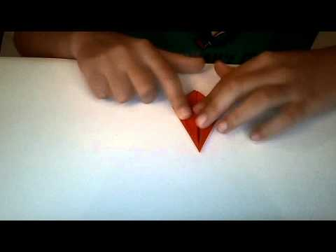 The AMAZING popping origami carrot!!