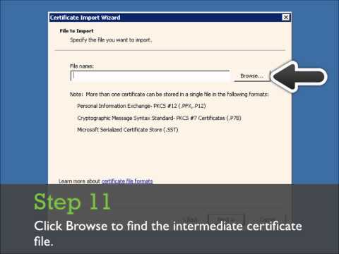 Install SSL certificate in Microsoft Exchange Server 2010. SSL Installation Guide.
