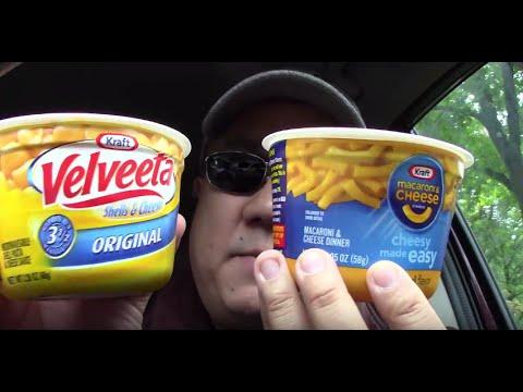 Kraft Macaroni & Cheese VS Velveeta Shells & Cheese - Comparison Review