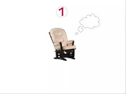 Choosing the Best Nursery Baby Glider Chair with 3 features  Review of Perfect Baby Glider Chairs