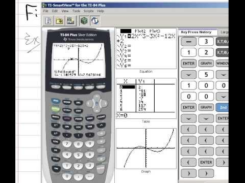 Increasing and Decreasing Functions on Calculator