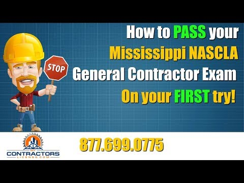 Mississippi General Contractor Exam Prep Course 🔨 🔨