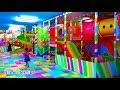 Main Mandi Bola Perosotan Main Trampolin Di Taman Bermain Anak Mainan Anak Kids Zone Playground