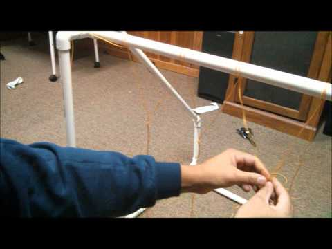 How to make a soccer goal out of PVC