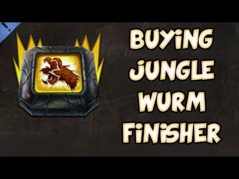 BUYING JUNGLE WURM FINISHER! | Guild Wars 2 Gemstore Shopping #019