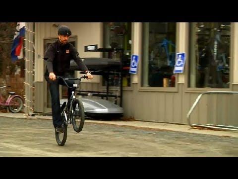 How to Pop a Wheelie on a BMX Bike : BMX Biking