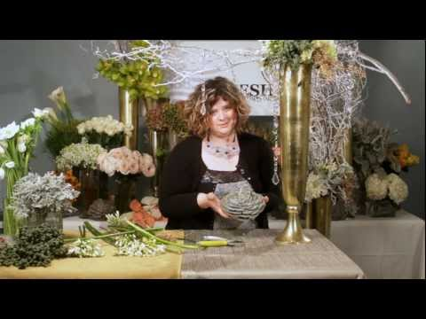 The Art of Flowers January 2012: 2 Large Party Entrance Floral Designs