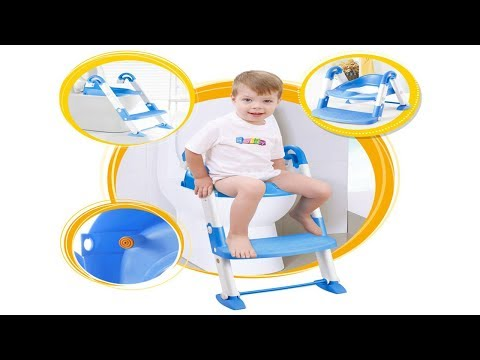Top Gadget For Kids Baby Potty Training Seat with Step Stool Ladder for Child Toddler Toilet Chair
