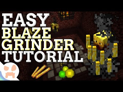 EASY Blaze Farm 1.12.2 Tutorial | ALL PLATFORMS , CHEAP