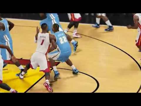 NBA2K15 Alley-oop Houdini My Player